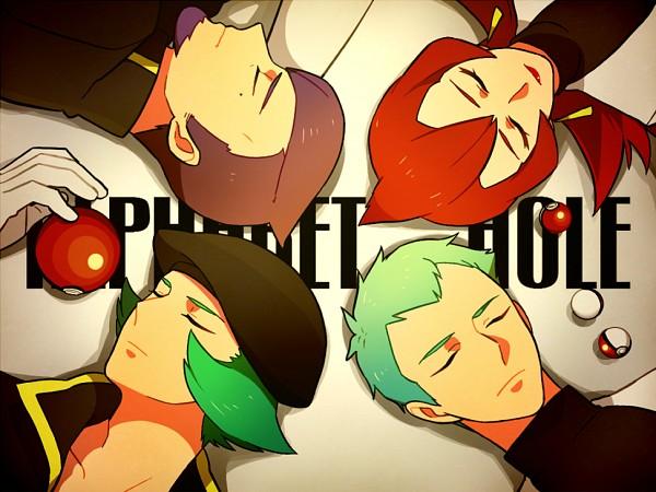Tags: Anime, Onuko (Pixiv1861313), Pokémon, Lambda (Pokémon), Lance (Pokémon), Apollo (Pokémon), Athena (Pokémon), Fanart From Pixiv, Fanart, Pixiv, Team Rocket