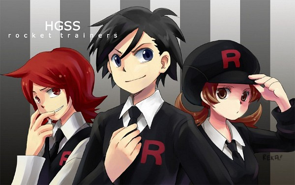 Tags: Anime, Reka-chan, Pokémon, Silver (Pokémon), Kotone (Pokémon), Hibiki (Pokémon), deviantART, Team Rocket