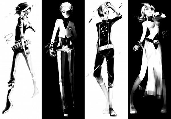 Tags: Anime, Pixiv Id 275229, Pokémon, Lambda (Pokémon), Lance (Pokémon), Apollo (Pokémon), Athena (Pokémon), Pixiv, Team Rocket