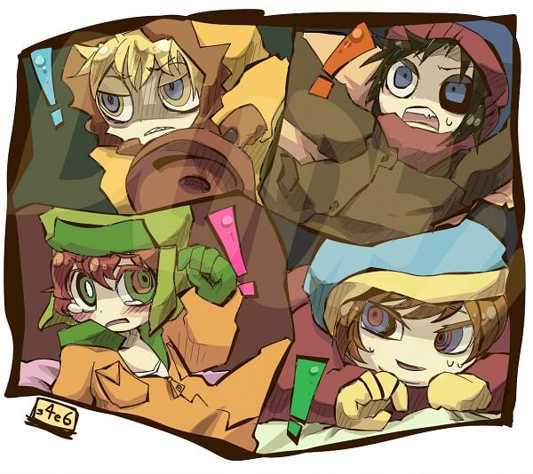 Tags: Anime, South Park, Stanley Randall Marsh, Eric Theodore Cartman, Kyle Broflovski, Kenneth McCormick, Team Stan