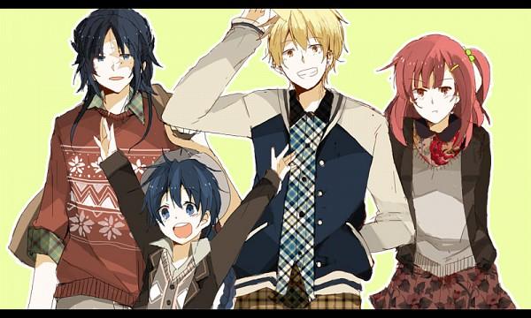 Tags: Anime, Pixiv Id 283113, MAGI: The Labyrinth of Magic, Ren Hakuryuu, Morgiana, Ali Baba Saluja, Aladdin (Magi), Fanart From Pixiv, Pixiv, Fanart, Team Zagan