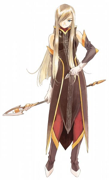 Tags: Anime, Fujishima Kousuke, Tales of the Abyss, Tear Grants, Scan, Mobile Wallpaper, Official Art