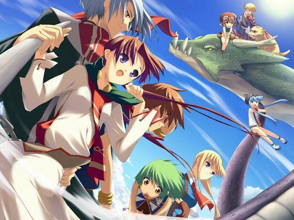 Tags: Anime, Leaf (Studio), Tears to Tiara, Octavia, Morgan, Llyr, Taliesin, Riannon, Arthur (Tears to Tiara), Arawn, Rathty, CG Art