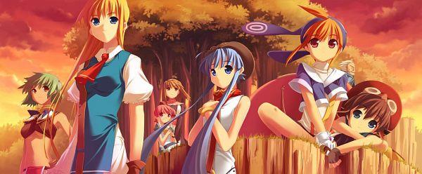 Tags: Anime, Leaf (Studio), Tears to Tiara, Octavia, Epona, Rathty, Morgan, Llyr, CG Art