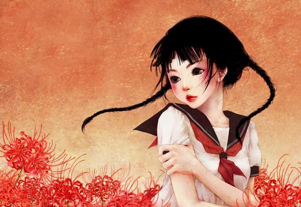 Tags: Anime, Techicoo, 100 Masters of Bishoujo Painting, Pixiv, Original