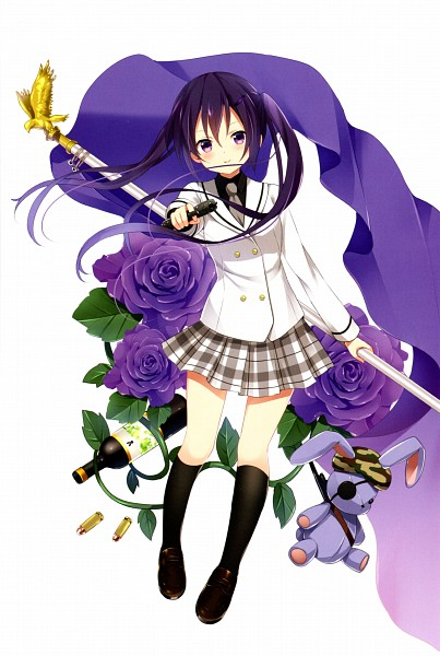 Tags: Anime, Koi (Koisan), Gochuumon wa Usagi Desu ka, Café du Lapin, Tedeza Rise, Scan, Official Art, Mobile Wallpaper
