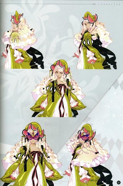 Tags: Anime, Yuiga Satoru, Otomate, Haitaka no Psychedelica Official Artbook, Haitaka no Psychedelica, Tee (Haitaka no Psychedelica), Self Scanned, Scan, Mobile Wallpaper, Official Art, Character Sheet