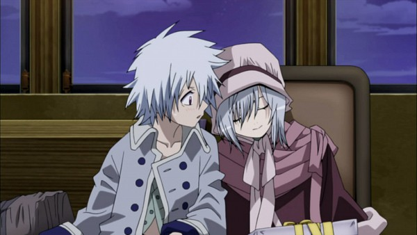 Tags: Anime, Tegami Bachi, Lag Seeing, Sylvette Suede, Screenshot, Letter Bee