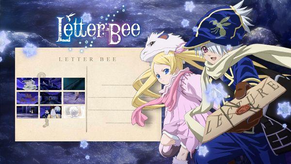 Tags: Anime, Shiba Minako, Tegami Bachi, Niche, Lag Seeing, Wallpaper, Official Art, HD Wallpaper, Letter Bee