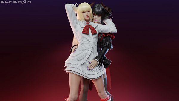 Tags: Anime, Pixiv Id 29207918, Tekken, Eliza (Tekken), Emilie de Rochefort, Pixiv, 3D
