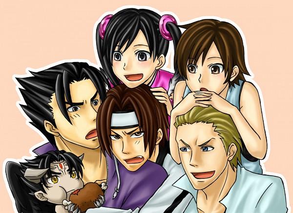 Tags: Anime, Tekken, Devil Jin, Ling Xiaoyu, Steve Fox, Kazama Jin, Hwoarang, Kazama Asuka, Meat