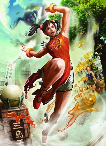 Tags: Anime, Tekken, Ling Xiaoyu, Mobile Wallpaper