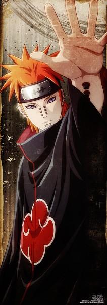 Tags: Anime, Kishimoto Masashi, Studio Pierrot, NARUTO, Pein, Tendou (Pein), Official Art