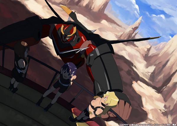 Tags: Anime, Tengen Toppa Gurren-Lagann, Kiyoh Bachika, Kiyal Bachika, Kinon Bachika, Gurren Lagann (Character), Artist Request