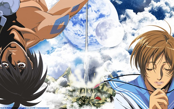 Tags: Anime, Tenkuu no Escaflowne, Kanzaki Hitomi, Van Fanel, 1440x900 Wallpaper, Wallpaper, The Vision Of Escaflowne