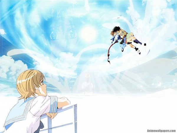 Tags: Anime, Tenkuu no Escaflowne, Kanzaki Hitomi, Van Fanel, Wallpaper, The Vision Of Escaflowne