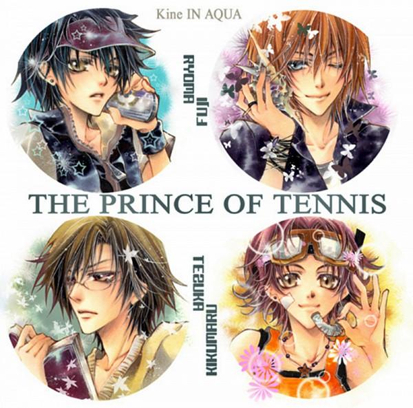 Tags: Anime, Kine In AQUA, Tennis no Ouji-sama, Fuji Shuusuke, Kikumaru Eiji, Tezuka Kunimitsu, Echizen Ryoma, Snorkel, Pixiv, Fanart, Seigaku, Prince Of Tennis