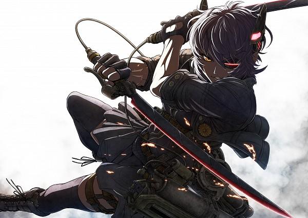 Tags: Anime, Imizu (Nitro Unknown), Kantai Collection, Tenryuu (Kantai Collection), Shingeki no Kyojin (Cosplay), Shingeki no Kyojin (Parody), Pixiv, Fanart, Fanart From Pixiv