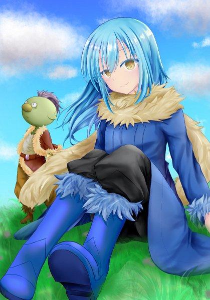 Tags: Anime, Pixiv Id 998961, Tensei Shitara Slime Datta Ken, Gobuta, Rimuru Tempest, That Time I Got Reincarnated As A Slime