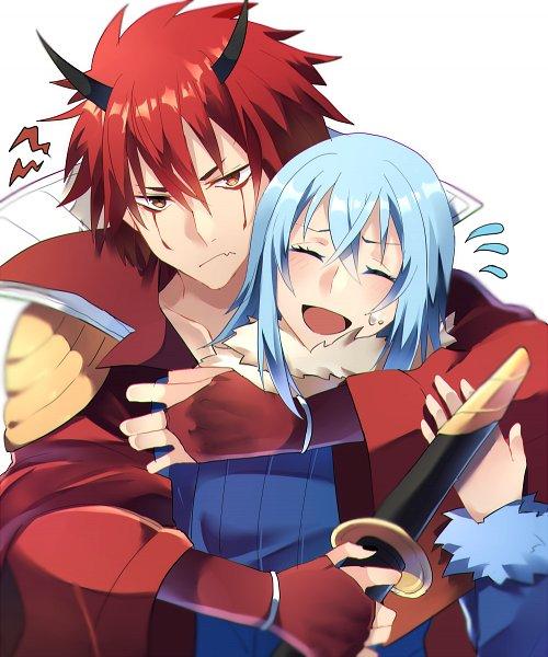 Tags: Anime, Pixiv Id 14253528, Tensei Shitara Slime Datta Ken, Rimuru Tempest, Benimaru, That Time I Got Reincarnated As A Slime