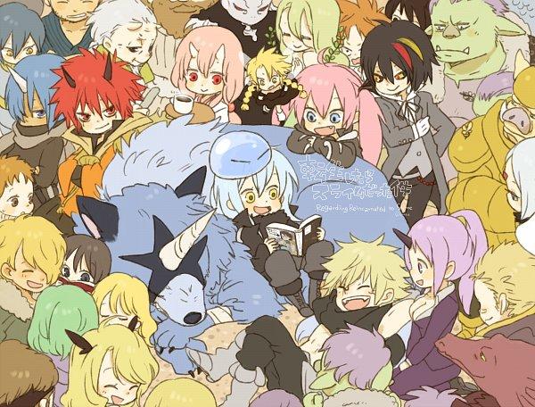 Tags: Anime, yukke, Tensei Shitara Slime Datta Ken, Shuna (Tensei Shitara Slime Datta Ken), Rimuru Tempest, Rigurdo, Benimaru, Hakurou (Tensei Shitara Slime Datta Ken), Milim Nava, Souei, Ranga (Tensei Shitara Slime Datta Ken), Ramiris, Shion (Tensei Shitara Slime Datta Ken), That Time I Got Reincarnated As A Slime