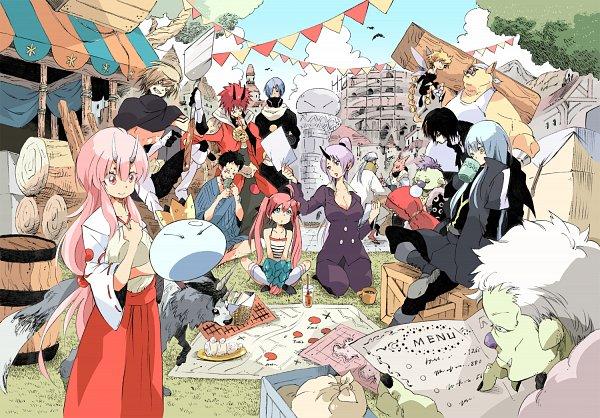 Tags: Anime, Pixiv Id 40439, Tensei Shitara Slime Datta Ken, Gobuta, Benimaru, Ramiris, Rimuru Tempest, Hakurou (Tensei Shitara Slime Datta Ken), Milim Nava, Kurobee, Souei, Veldora (Tensei Shitara Slime Datta Ken), Diablo (Tensei Shitara Slime Datta Ken), That Time I Got Reincarnated As A Slime