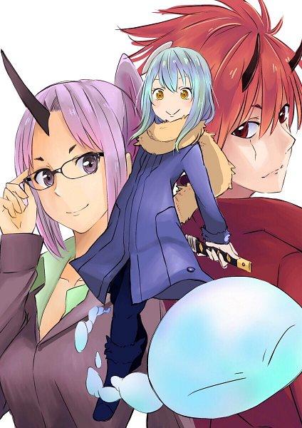 Tags: Anime, Pixiv Id 1187735, Tensei Shitara Slime Datta Ken, Shion (Tensei Shitara Slime Datta Ken), Benimaru, Rimuru Tempest (Slime), Rimuru Tempest, Slime, That Time I Got Reincarnated As A Slime