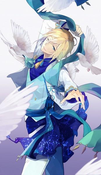 Tags: Anime, Pixiv Id 968769, Ensemble Stars!, Tenshouin Eichi, Blue Vest, Pixiv, Fanart, Fanart From Pixiv, Mobile Wallpaper
