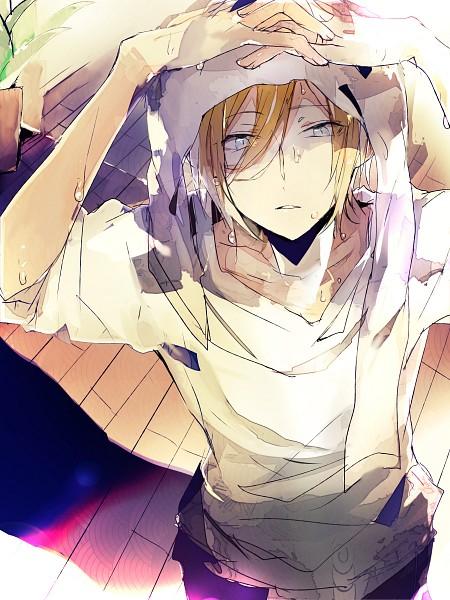 Tags: Anime, Pixiv Id 4359805, Ensemble Stars!, Tenshouin Eichi, Towel On Head, Mobile Wallpaper, Fanart From Pixiv, PNG Conversion, Pixiv, Fanart