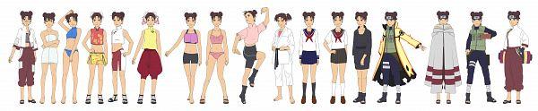 Tags: Anime, Sunakisabakuno, NARUTO, Tenten, Bijuu Mode, Fanart From DeviantART, Fanart, deviantART, Character Sheet
