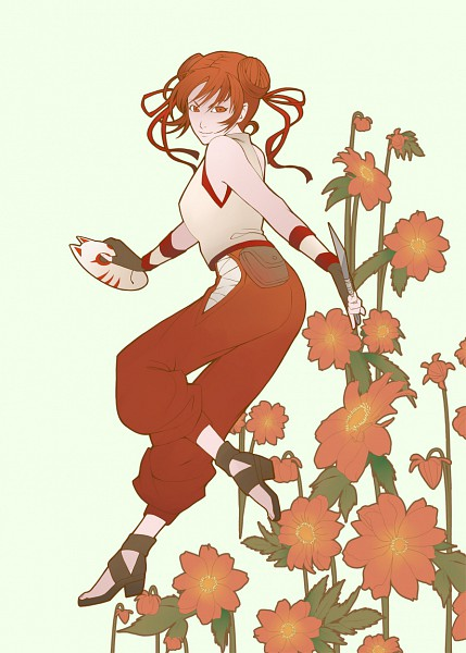 Tags: Anime, goldentigers, NARUTO, Tenten, deviantART, Mobile Wallpaper, Pixiv, PNG Conversion, Fanart