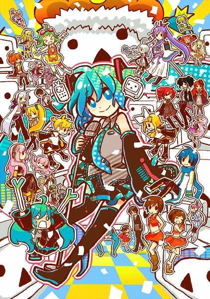 Terebi-chan - Nico Nico Douga