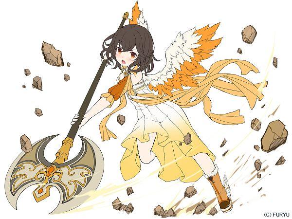 Tags: Anime, Namaru (Summer Dandy), FuRyu, MonMusu Harem, Tereia (MonMusu Harem), Official Art