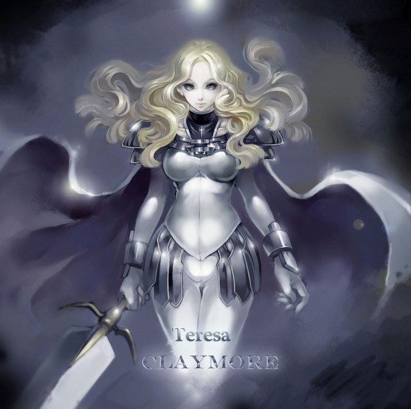 Tags: Anime, Pixiv Id 2749435, Claymore, Teresa, Fanart