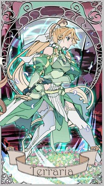 Tags: Anime, Sword Art Online: Alicization -War Of Underworld-, Sword Art Online: Alicization, Sword Art Online, Kirigaya Suguha, Terraria (PA)