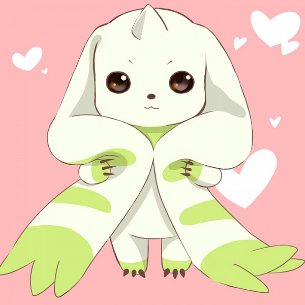Tags: Anime, Pixiv Id 2406207, Digimon Tamers, Terriermon, Observing