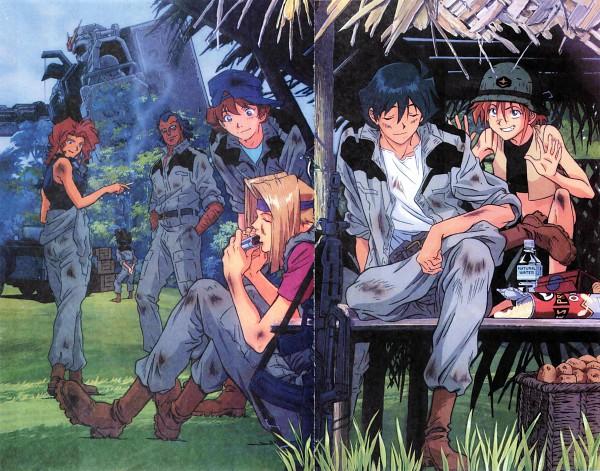 Terry Sanders - Mobile Suit Gundam