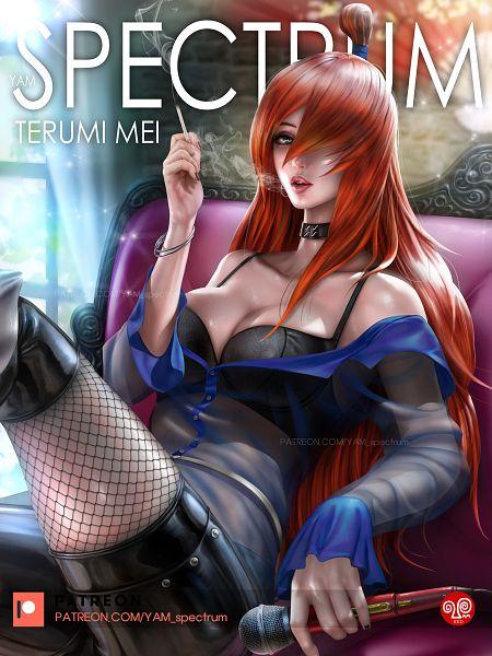 Tags: Anime, Yam Spectrum, NARUTO, Terumii Mei, Fanart, Pixiv, Wallpaper, Fanart From Pixiv