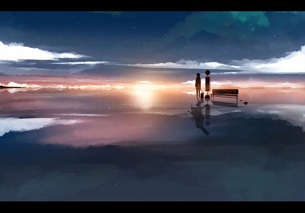 Tags: Anime, Tetsu (Countryside), Pixiv Shadow, Pixkage, Sunrise, Pixiv