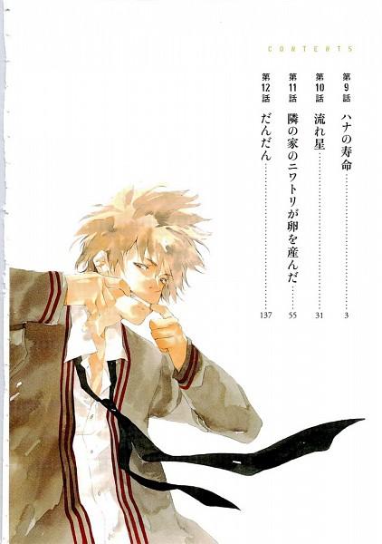 Tags: Anime, Sahara Mizu, Tetsugaku Letra, Kikuchi Hana, Scan, Manga Color