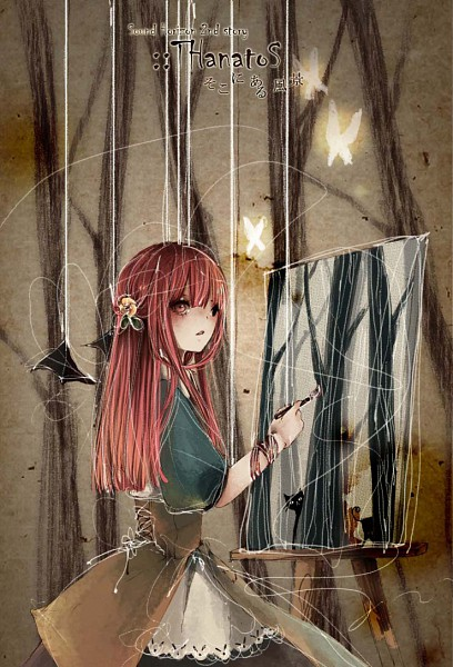Tags: Anime, Shou Gatsu Ai, Thanatos-ko, Painting (Action), Mobile Wallpaper, Thanatos (Sound Horizon) (Story Cd), Pixiv, Sound Horizon