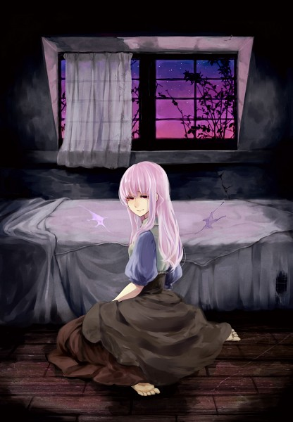 Tags: Anime, Anmin, Thanatos-ko, Bedroom, Thanatos (Sound Horizon) (Story Cd), Mobile Wallpaper, Sound Horizon