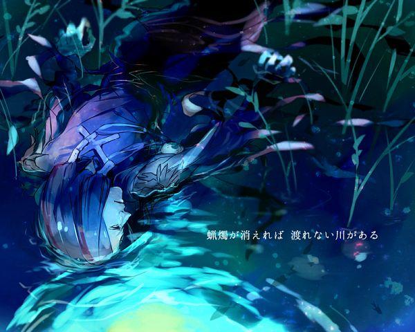 Tags: Anime, Leosako, Thanatos (Sound Horizon), Fanart, Moira (Sound Horizon), Pixiv, Fanart From Pixiv, Sound Horizon