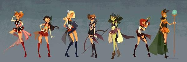 Tags: Anime, Nna, Iron Man, The Avengers, Thor Odinson, Natasha Stark, Hawkeye (Character), Hulk, Black Widow, Steven Rogers, Anthony Edward Stark, Loki Laufeyson, Bishoujo Senshi Sailor Moon (Cosplay)