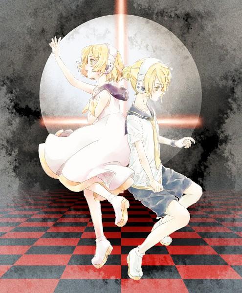 Tags: Anime, VOCALOID, Kagamine Rin, Kagamine Len, The Benzene Series, Kagamine Mirrors