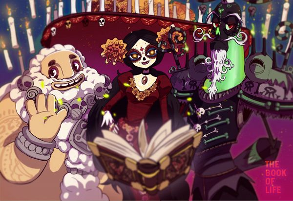 Tags: Anime, Yway, The Book of Life, The Candlemaker, Xibalba, La Muerte, Día de los Muertos, Fanart From DeviantART, deviantART, Fanart
