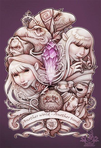 Tags: Anime, Medusa-dollmaker, The Dark Crystal, Kira (The Dark Crystal), Jen (The Dark Crystal), Aughra, deviantART, Fanart, Fanart From DeviantART