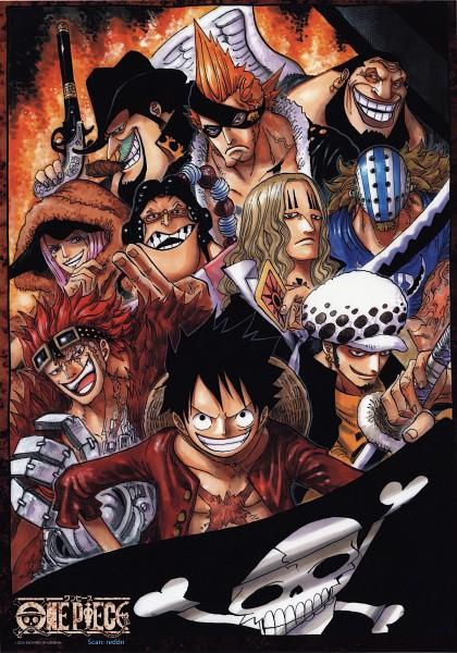 Tags: Anime, Oda Eiichirou, ONE PIECE, Monkey D. Luffy, X Drake, Jewelry Bonney, Urouge, Eustass Kid, Killer (ONE PIECE), Scratchmen Apoo, Trafalgar Law, Capone Bege, Basil Hawkins