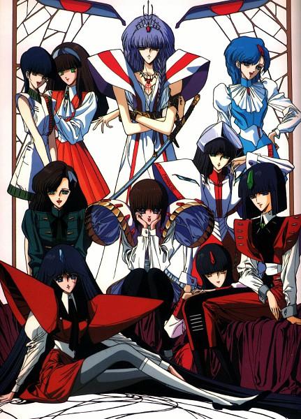 Tags: Anime, Nagano Mamoru, Yuki Nobuteru, Sunrise (Studio), The Five Star Stories, Amaterasu no Mikado, Fatima Atropos, Fatima Est, Fatima Clotho, Fatima Megaera, Fatima Lachesis, Fatima Alecto, Fatima Ietta