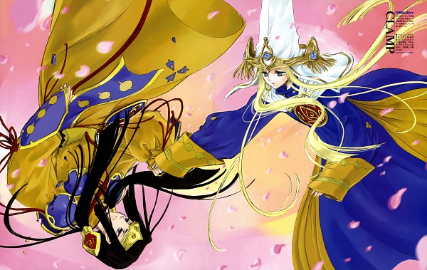 Tags: Anime, CLAMP, The Five Star Stories, Depre Zen Atoll, Magdall Atoll, Scan